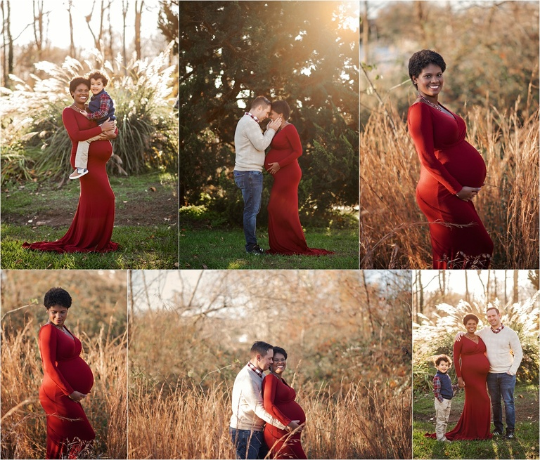 outdoors maternity session Harford county