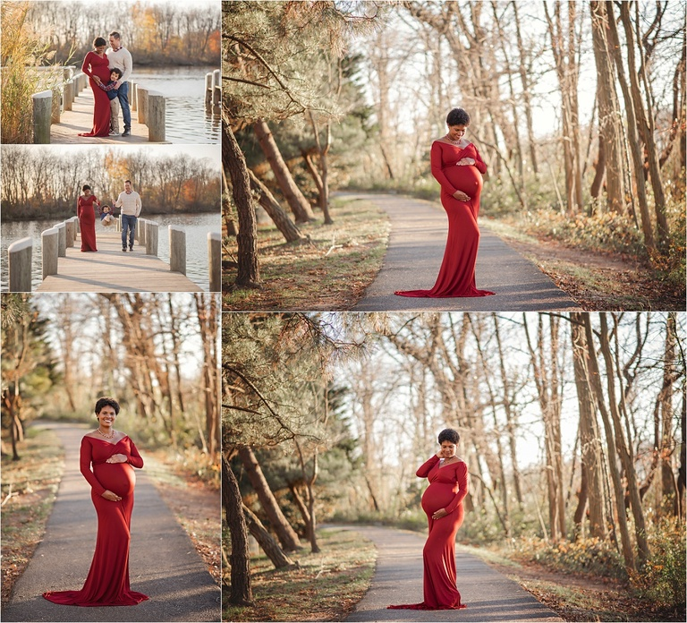 fall maternity session in harford county Maryland