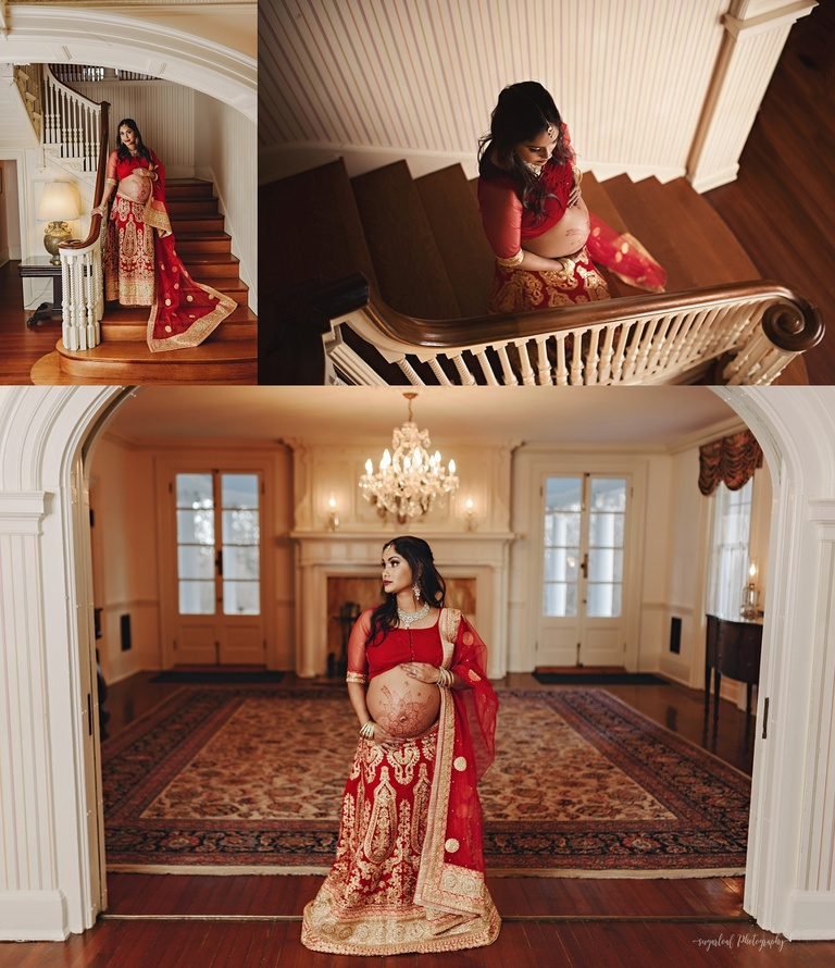 indian maternity attire traditional